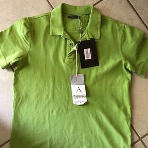 Other - Man's Kiwi Green Polo Shirt NWT Size L